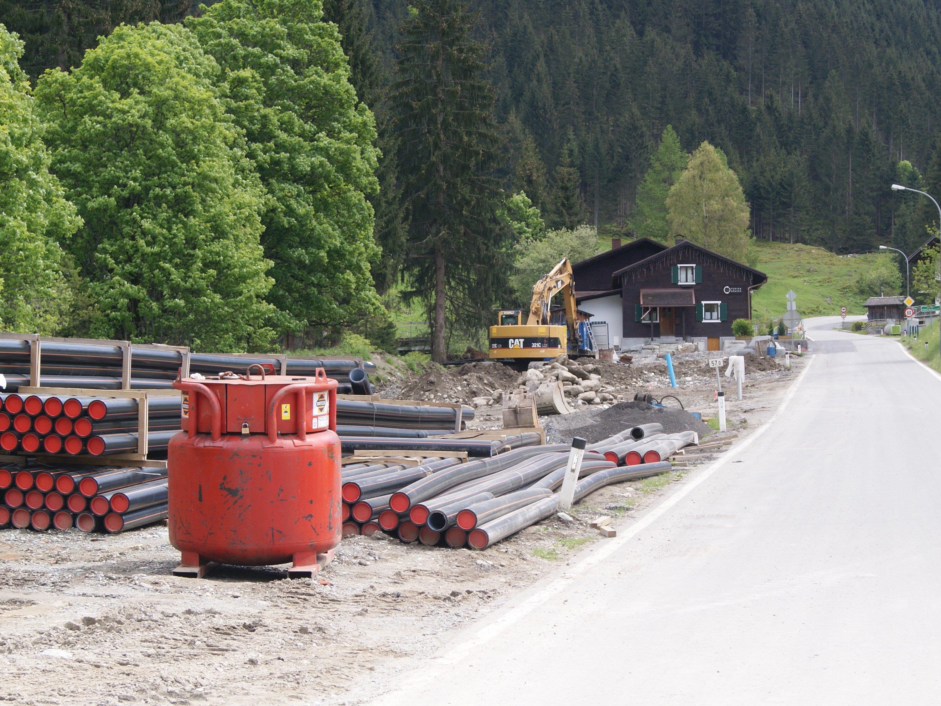 Die Gaschurner Kanalarbeiten waren bereits 2014 einigen suspekt.