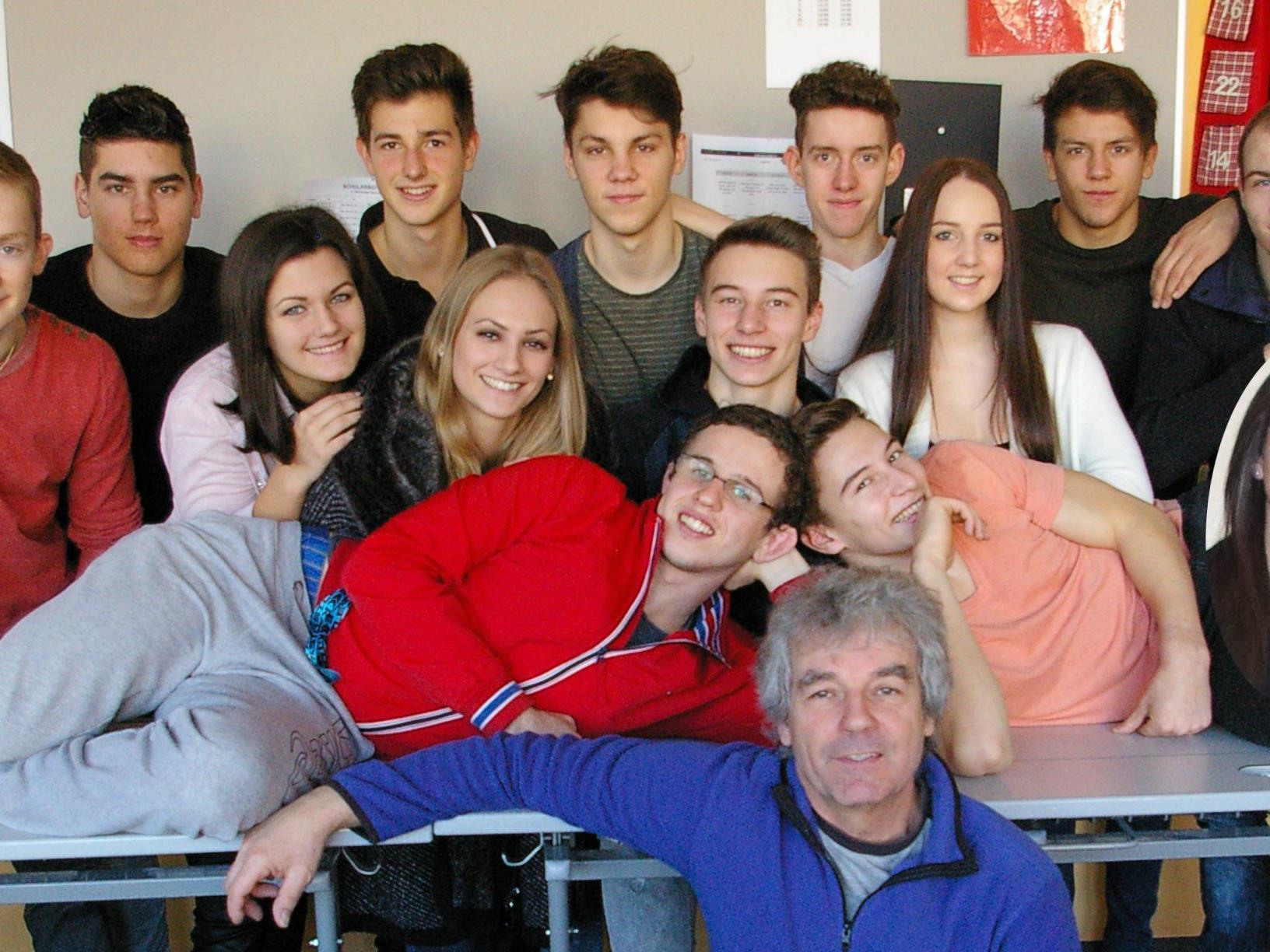Schüler des Sportgymnasiums Dornbirn vertieften ihre Kontakte zur heimischen Medienlandschaft.