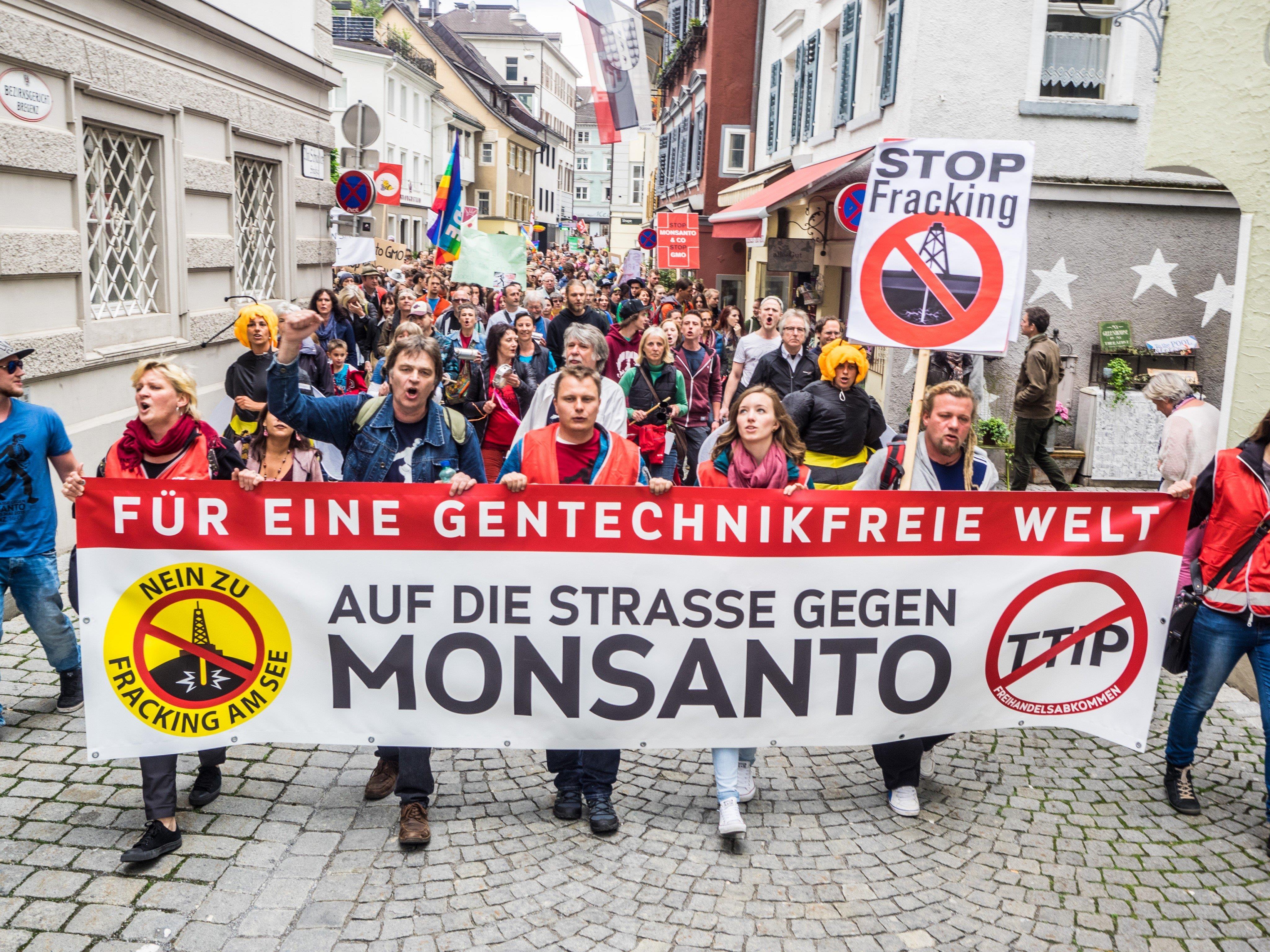 """In den vergangenen Jahren haben Tausende Vorarlbergerinnen und Vorarlberger am """"March against Monsanto"""" teilgenommen."""
