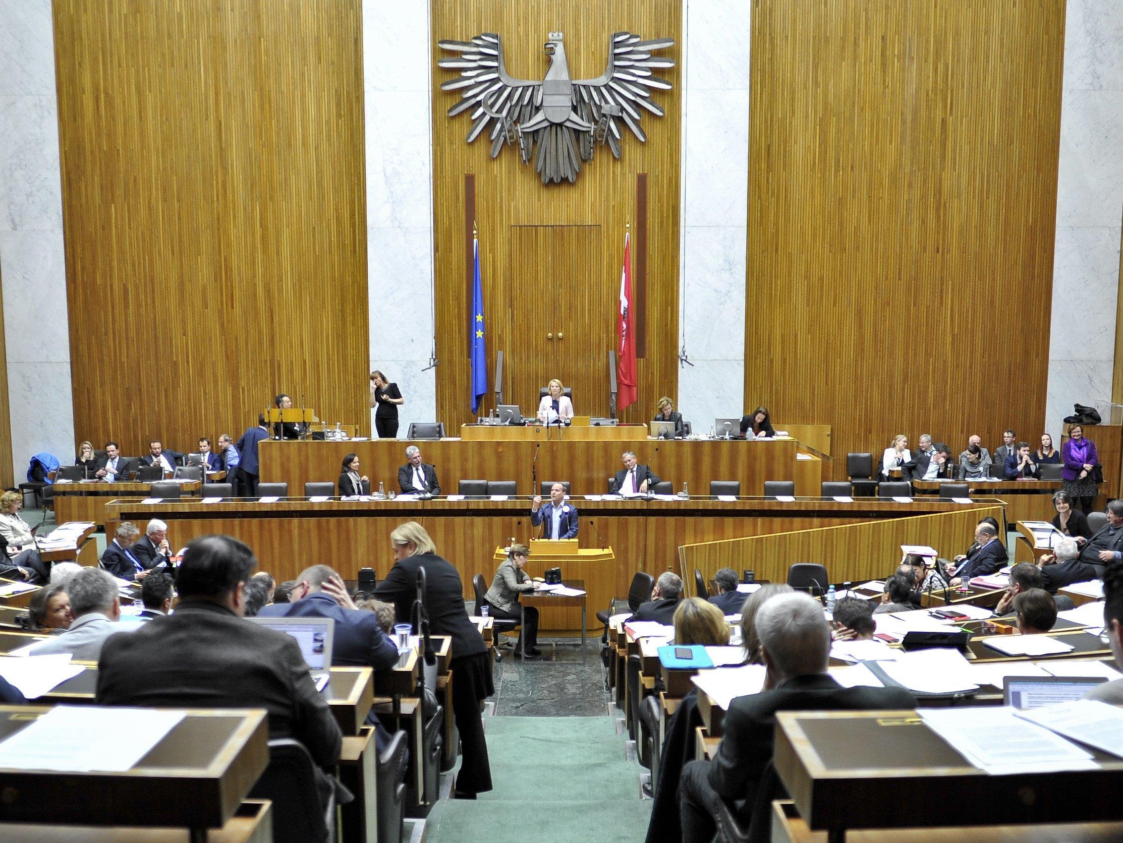 Spannende erste Nationalratssitzung nach der ersten Runde der BP-Wahl erwartet.