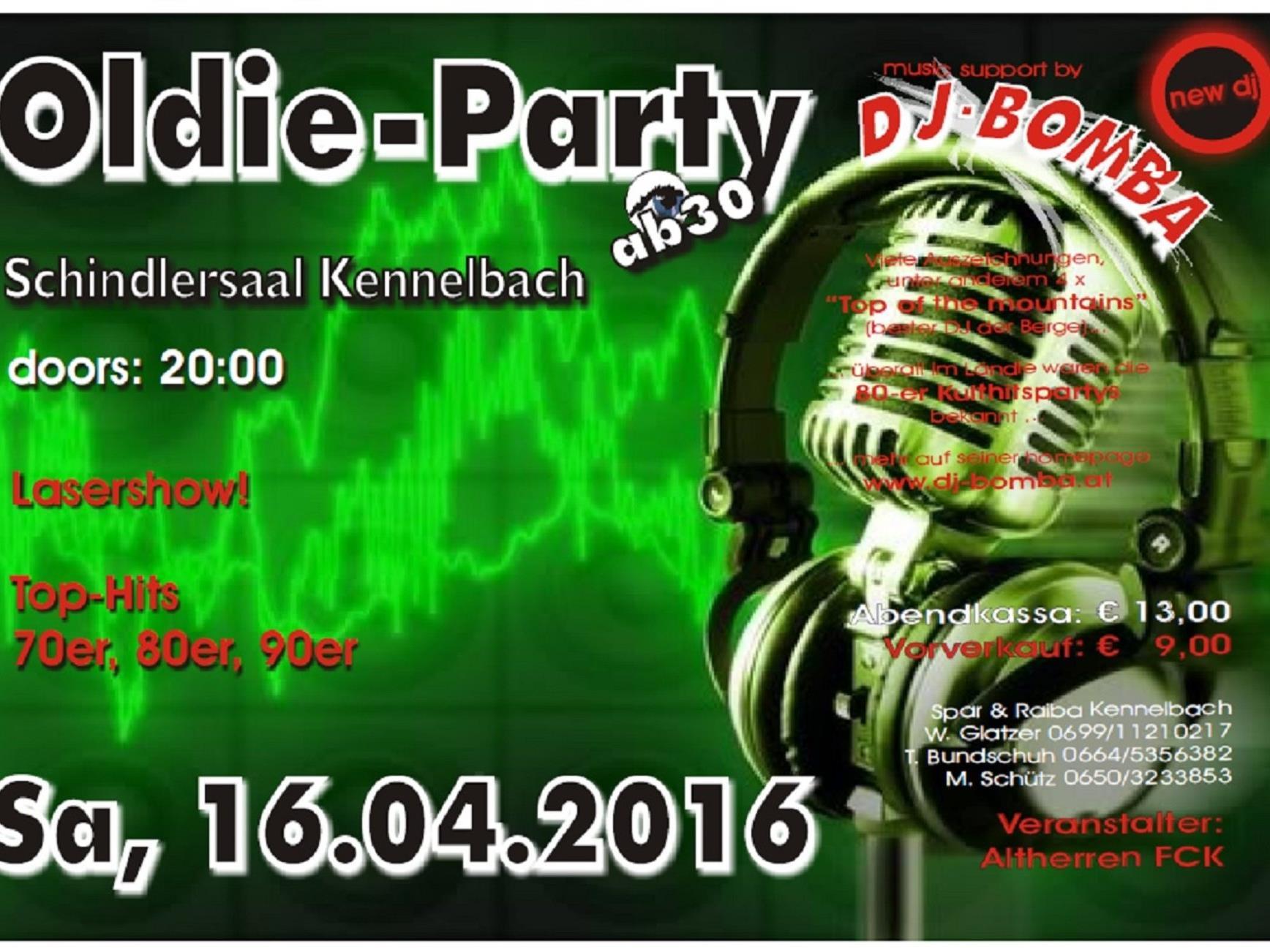 Oldie Party 2016