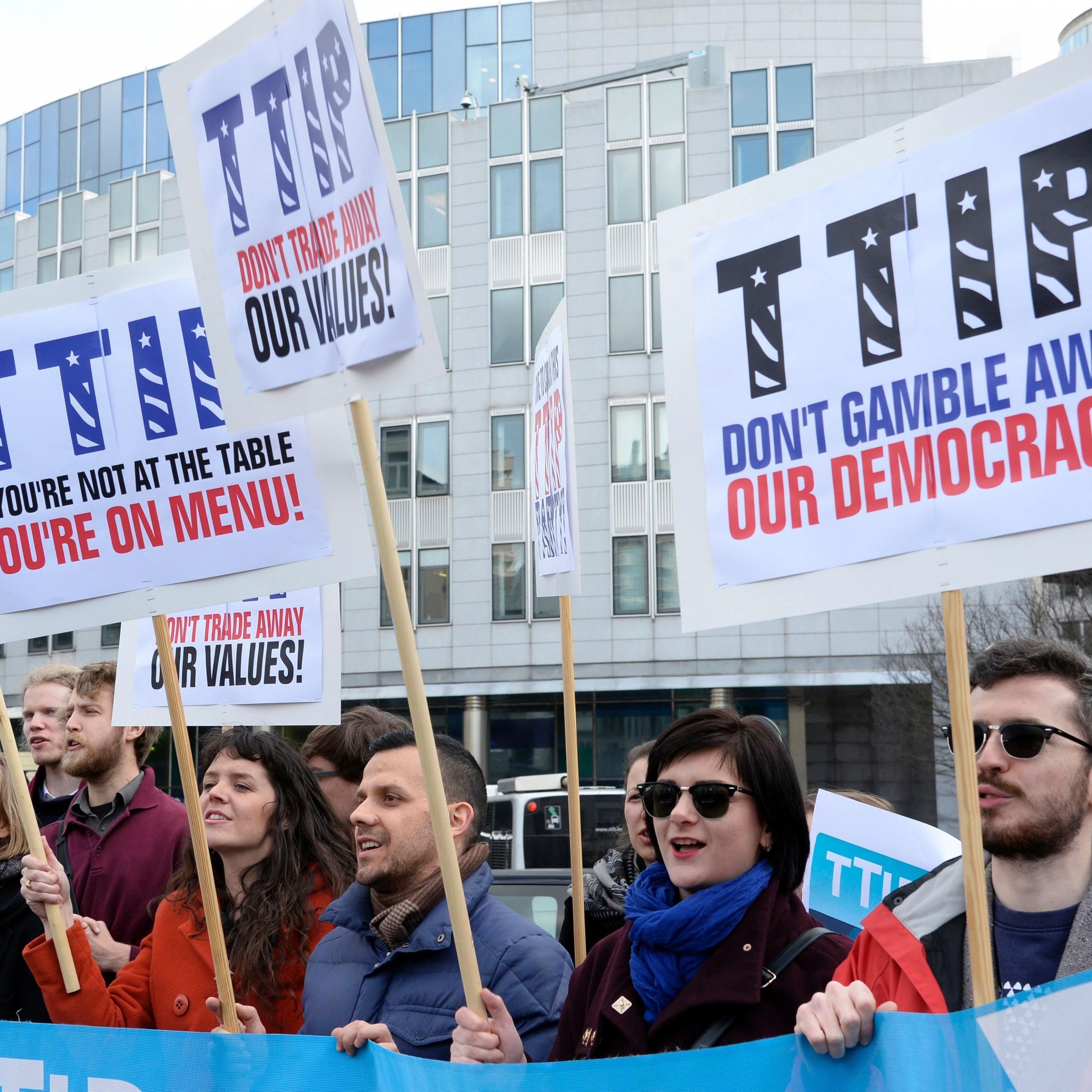 TTIP steht wieder einmal im Zentrum einer spannenden Debatte.