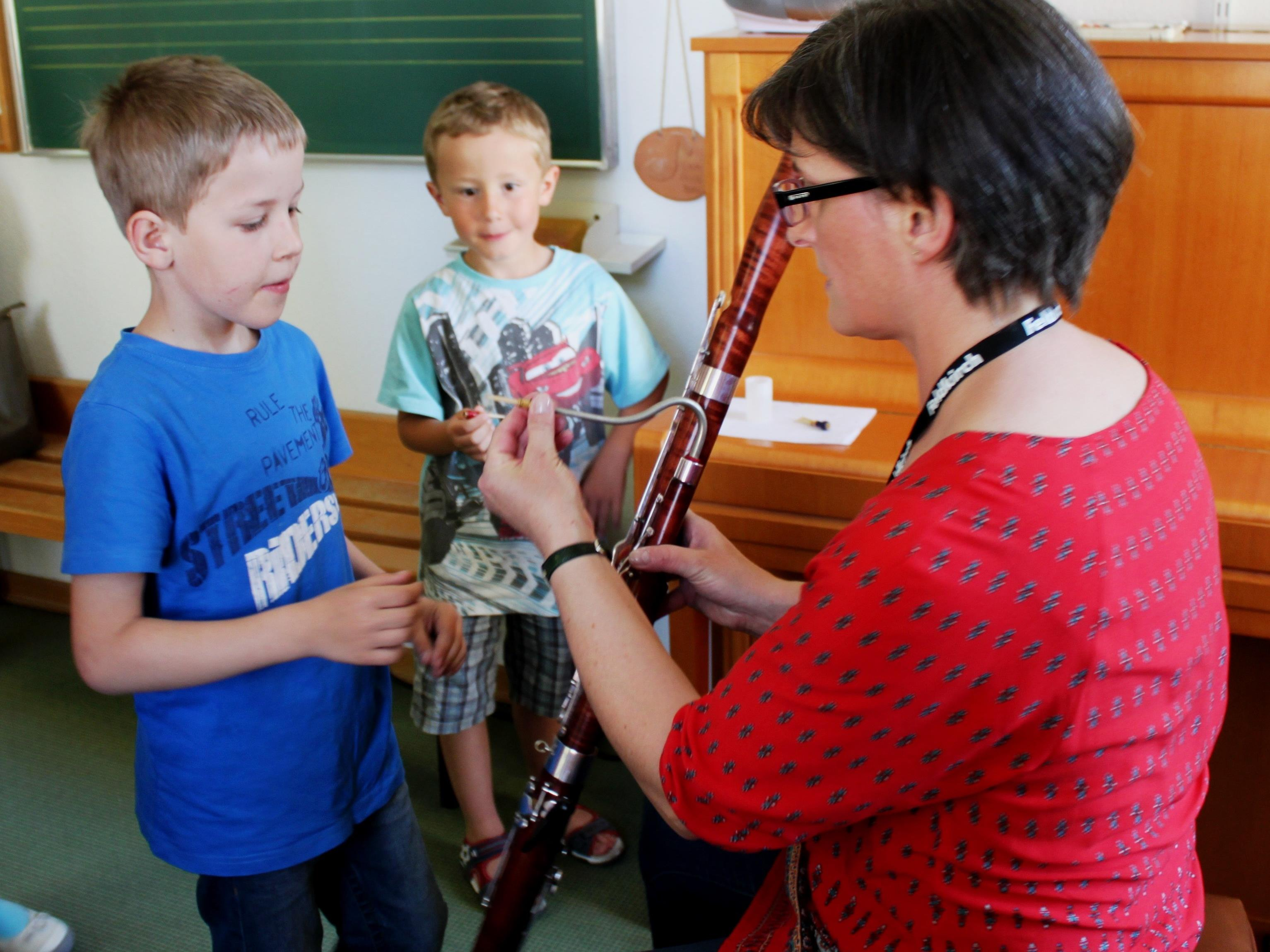 Tag der offenen Tür in der Musikschule Feldkirch am Freitag, 29.04.2016