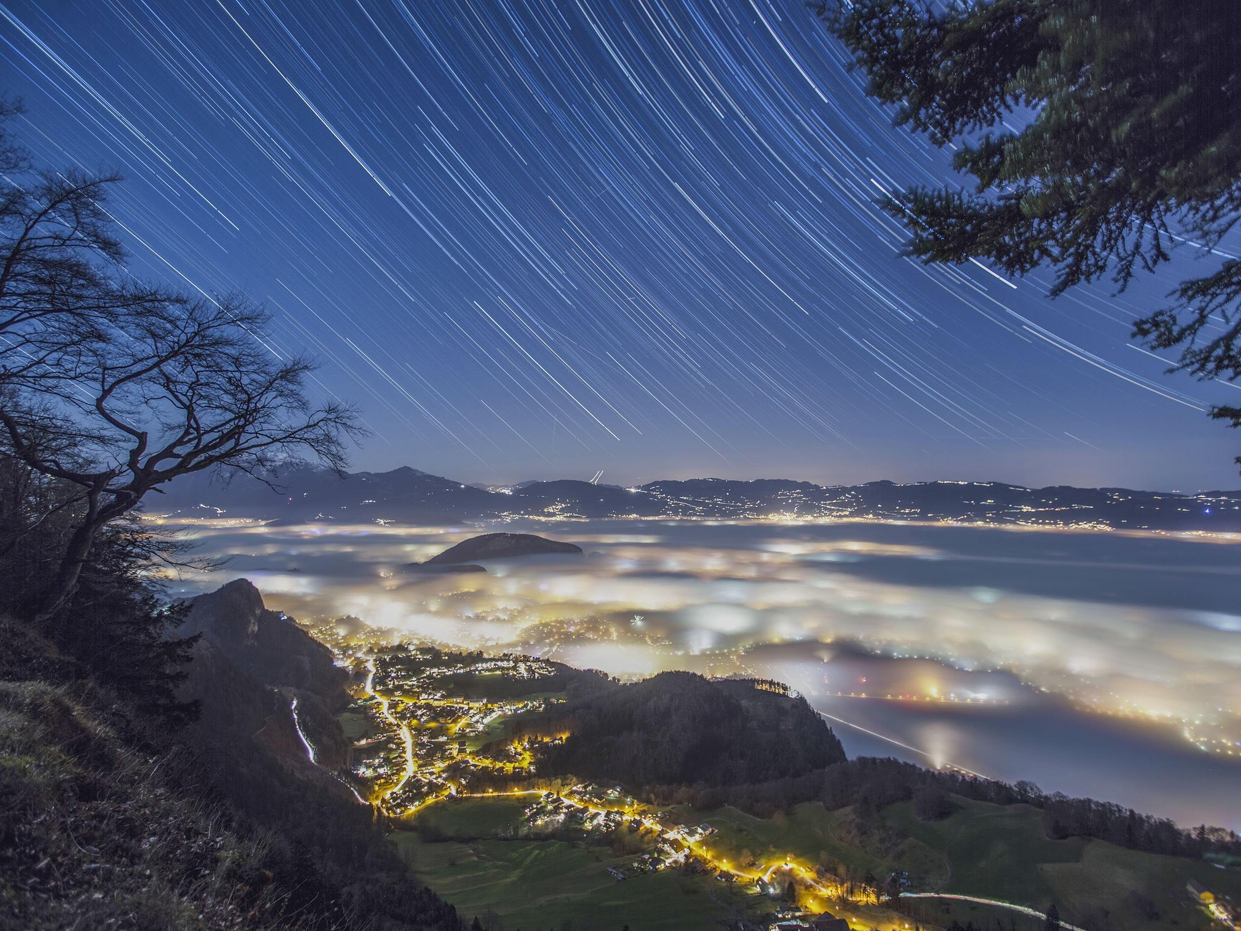 Die schönsten Bilder aus der Region gibt es im Gemeindeamt Koblach zu sehen.