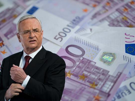 Martin Winterkorn, Ex-Vorstandsvorsitzender der Volkswagen AG, erhielt das höchste Gehalt.