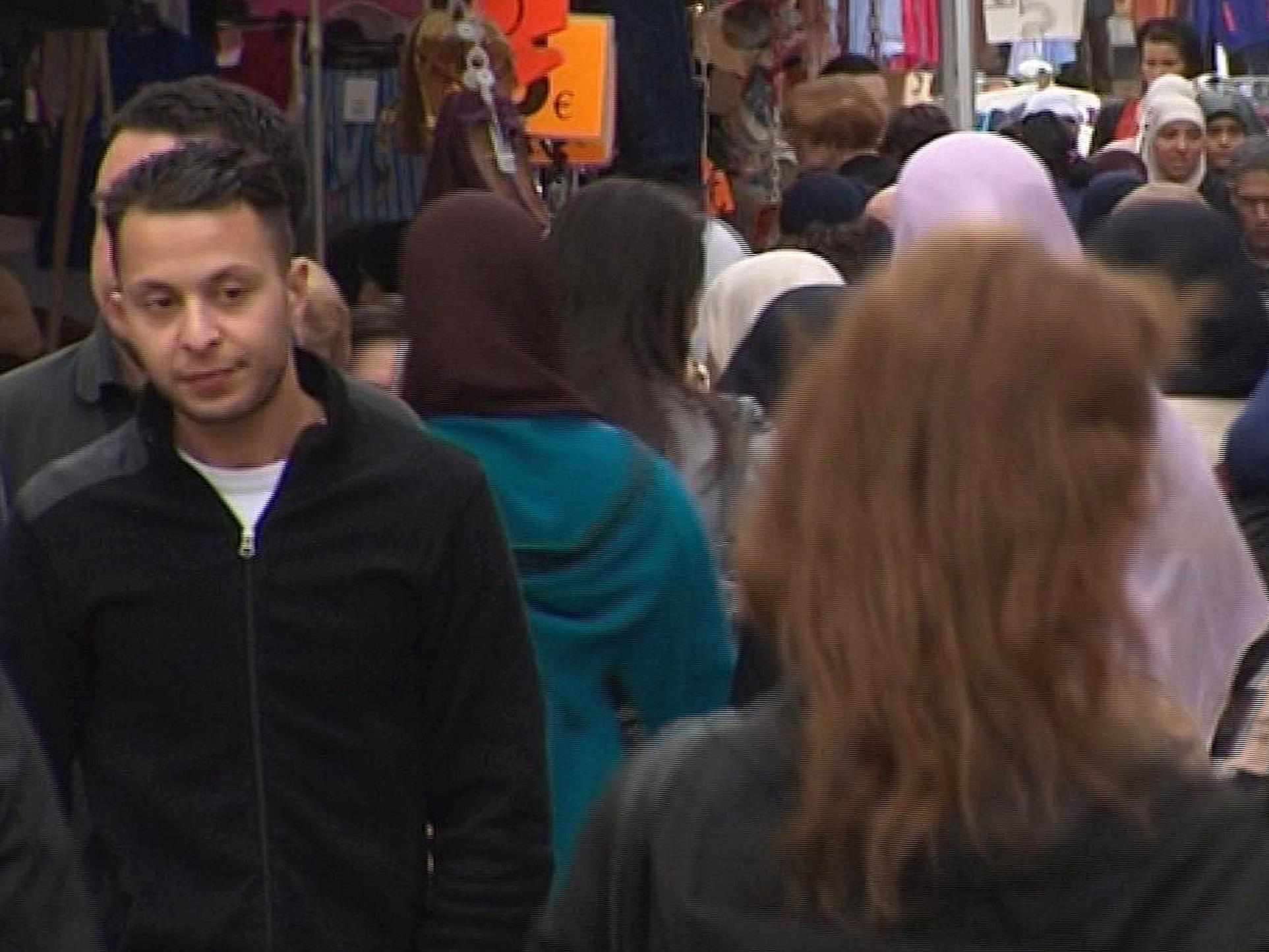 Standbild eines Videos zeigt den mutmaßlichen Paris-Terroristen Salah Abdeslam.