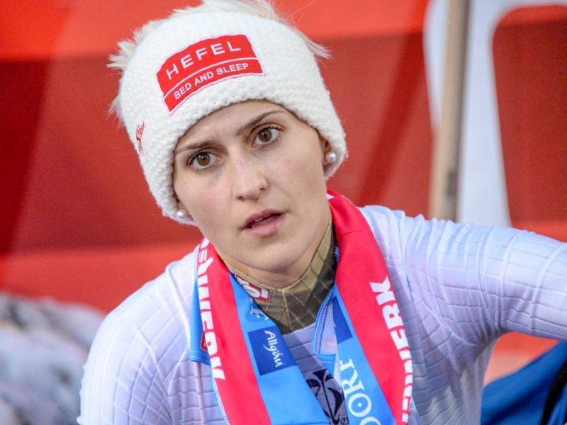 Die Dornbirnerin Eva Pinkelnig hofft auf eine WM Medaille