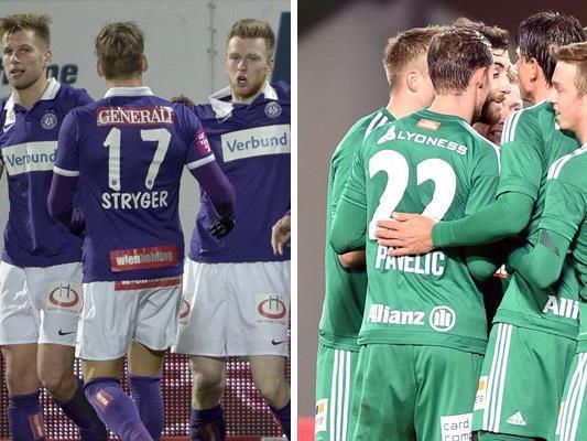 Die Austria und Rapid wollen endlich wieder siegen.