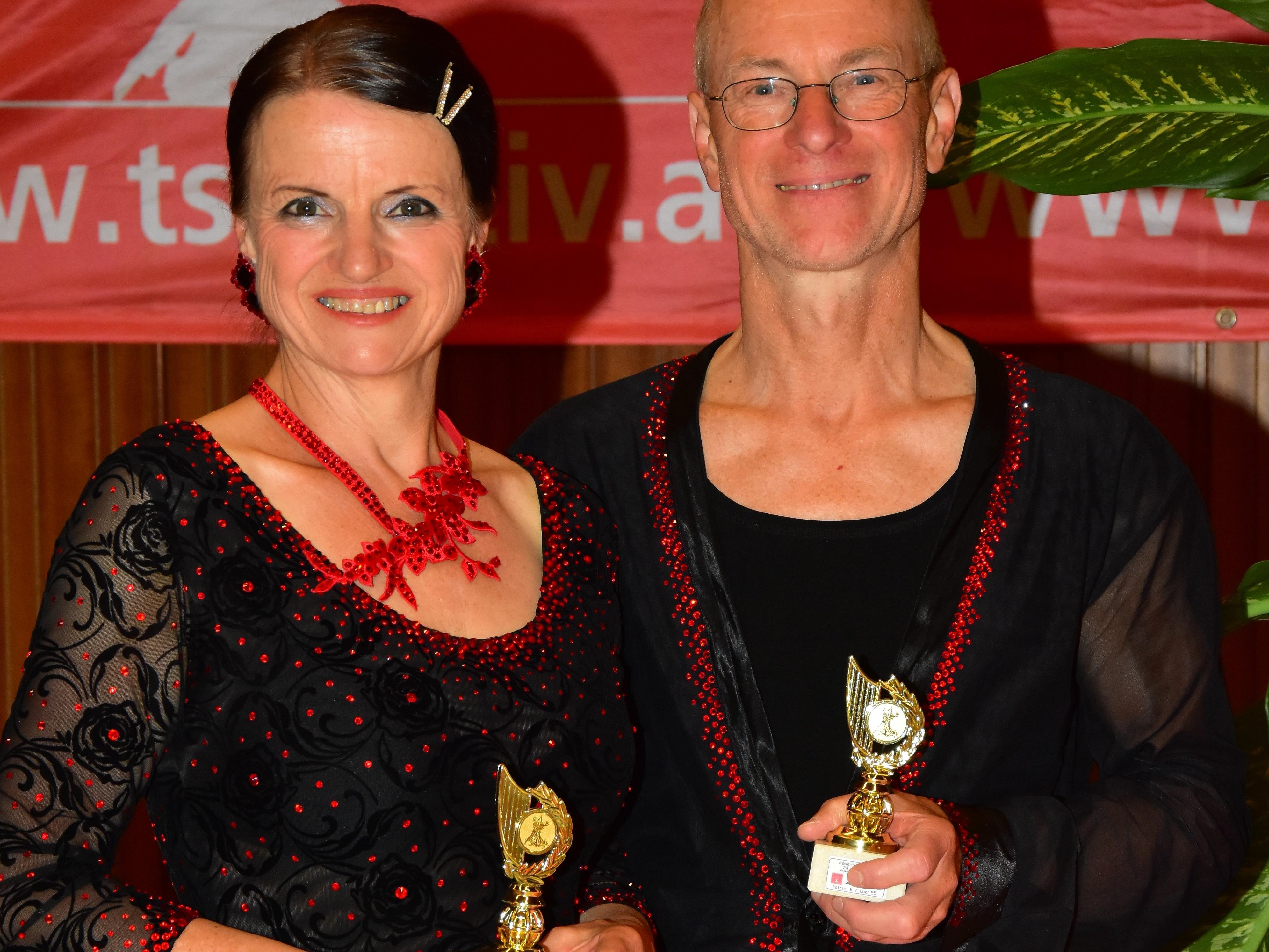 Das Latein S-Klasse Paar Elmar und Jitka Natter