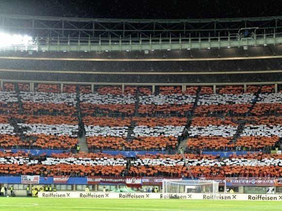 Das Wiener Ernst Happel Stadion wird gut gefüllt sein.