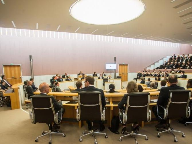 Die Sitzung aus dem Vorarlberg Landtag live.