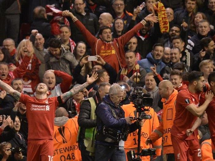 Tore Liverpool Dortmund