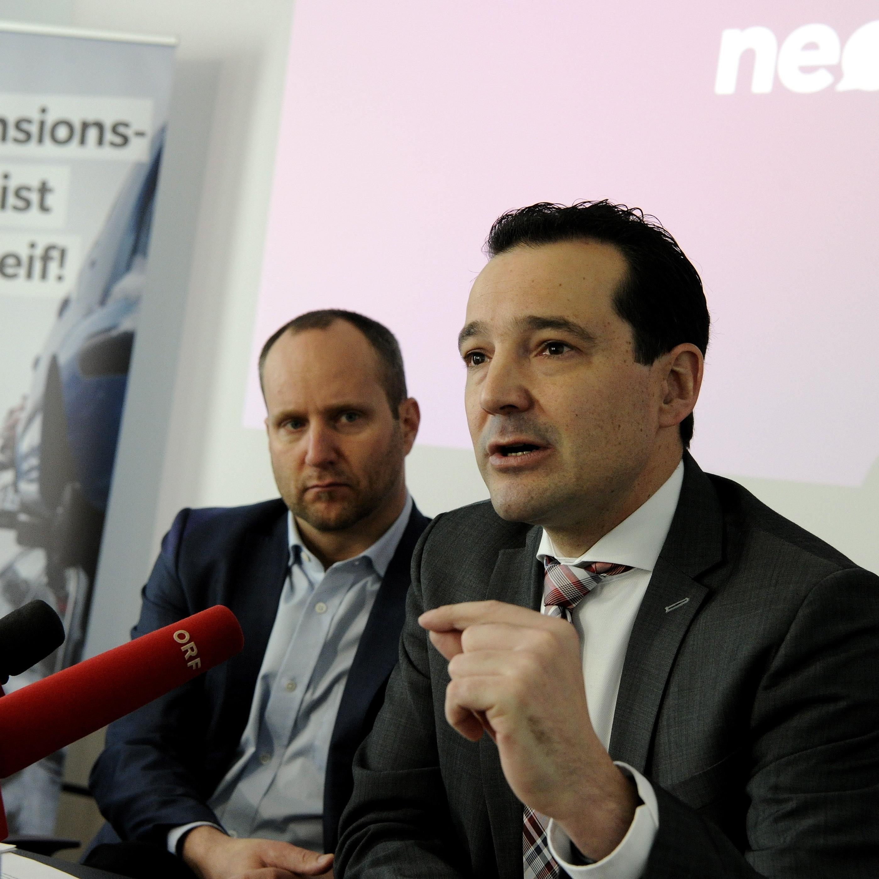 """Neos-Loacker: """"Man könnte ja die Kammerumlage senken"""""""