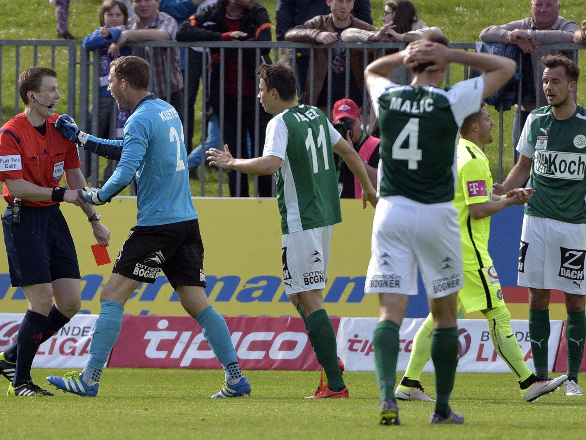 Austria 9:0 in Mattersburg: Auswärtssiegrekord eingestellt.