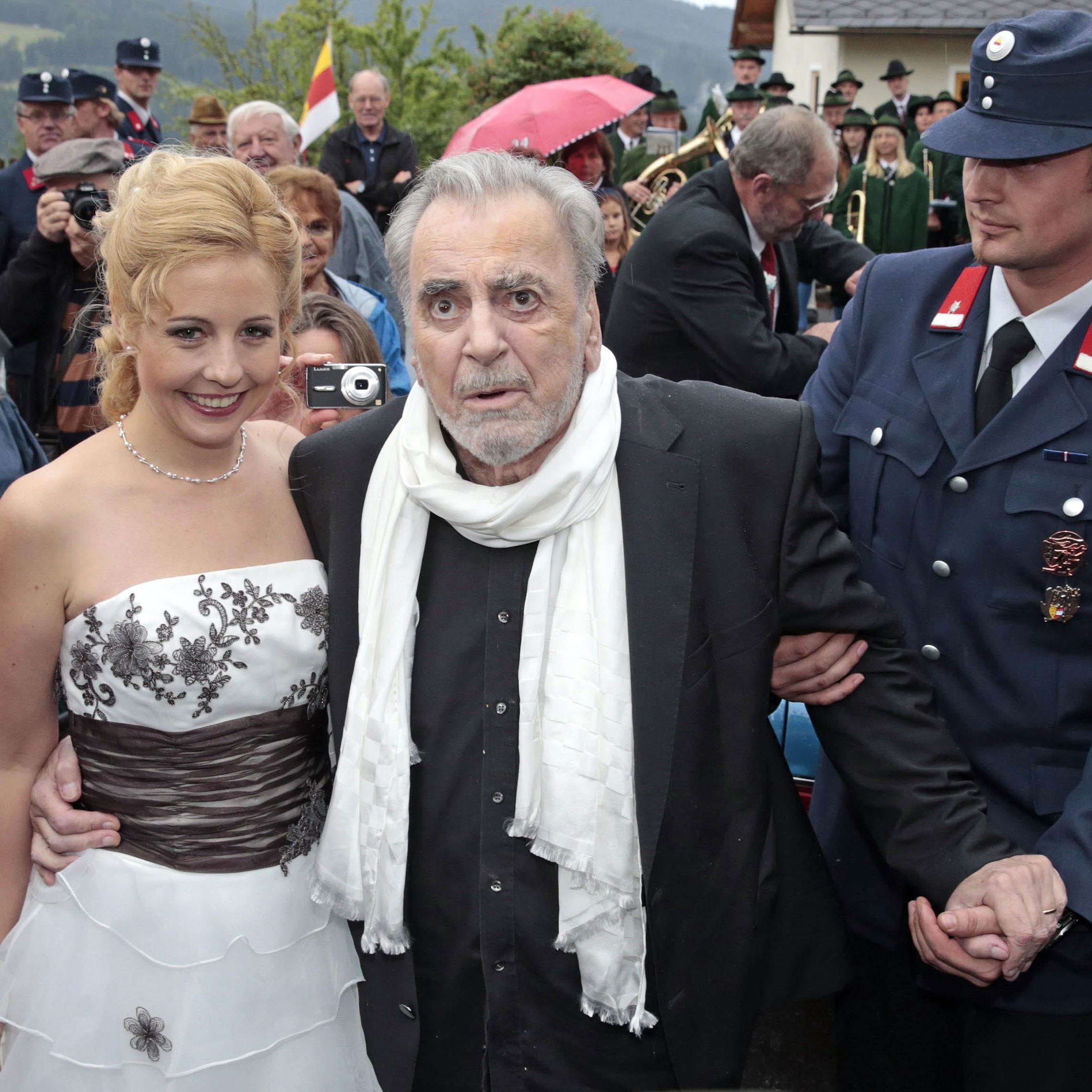 Iva Schell mit dem vor zwei Jahren verstorbenen Schauspieler Maximilian Schell.