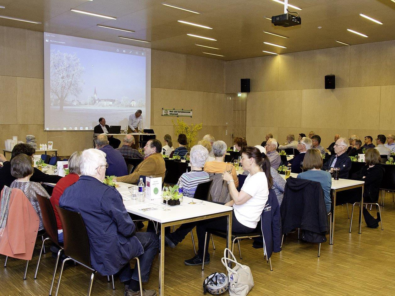 Jahreshauptversammlung des Obst- und Gartenbauverein Altenstadt.