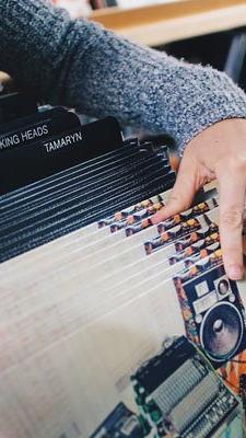 Plattensammler kommen beim Record Store Day auf ihre Kosten.
