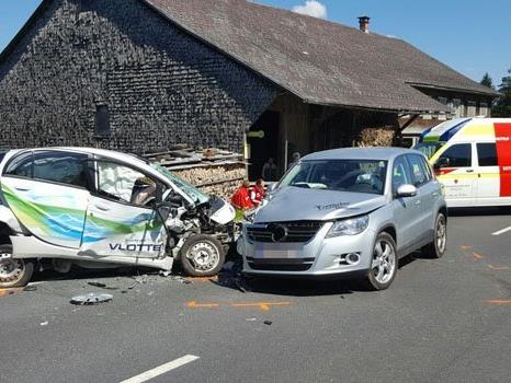 Am Mittwochnachmittag ereignete sich in Alberschwennde ein Verkehrsunfall.