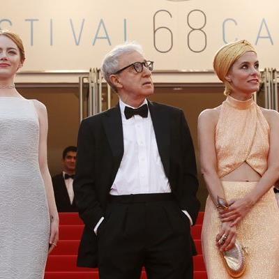 Woody Allen in Cannes vergangenes Jahr
