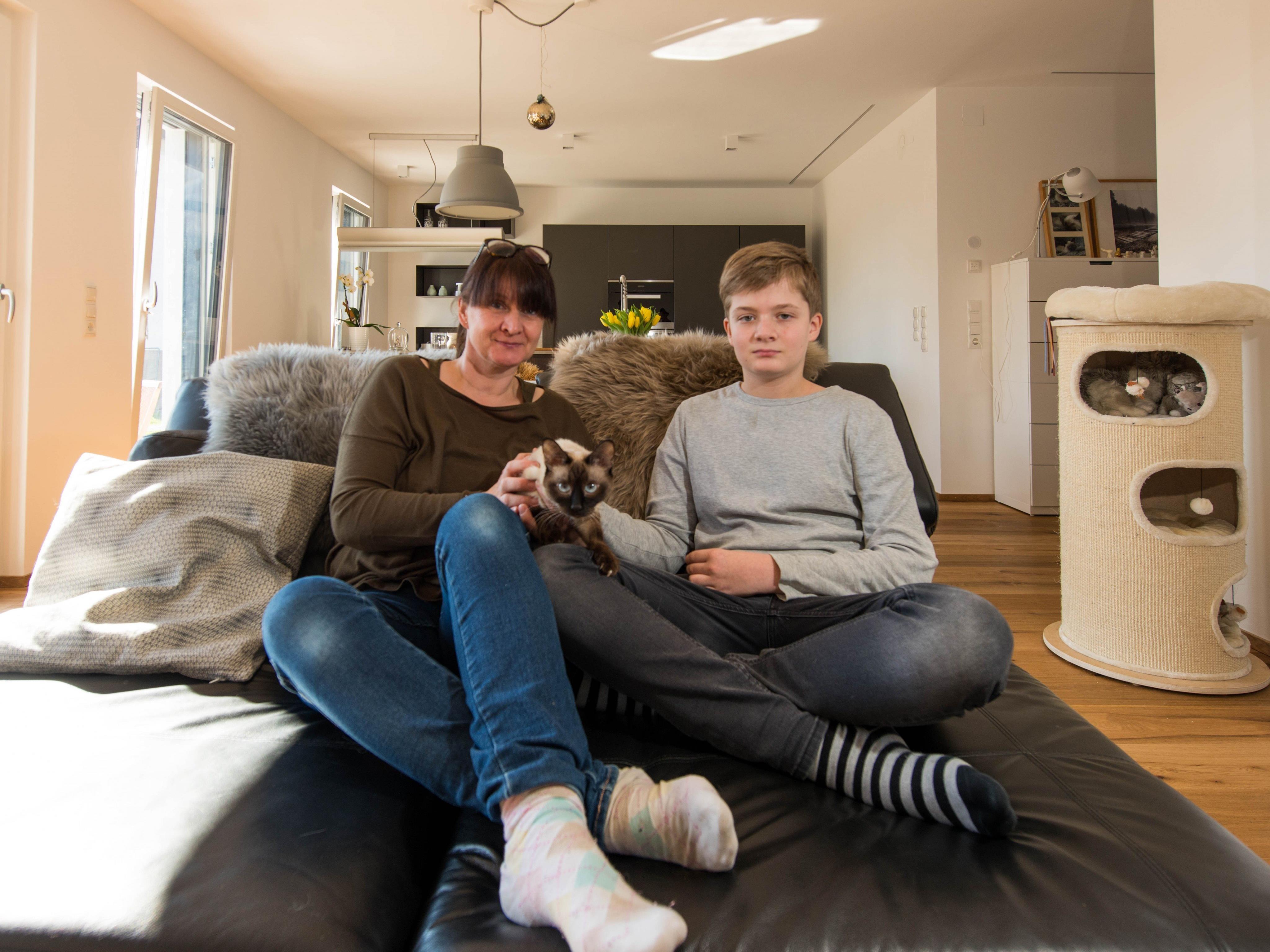 Viele Studenten wohnen noch zu Hause bei den Eltern.