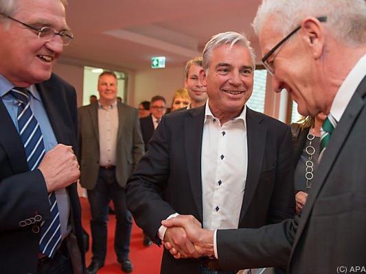 Koalitionsvertrag von Grünen und CDU in Stuttgart