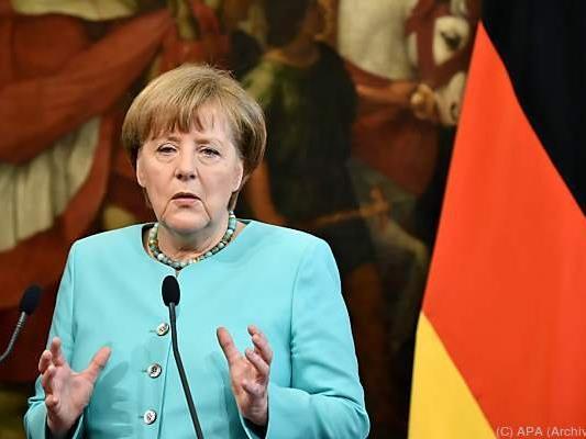Merkel verteidigte die Pressefreiheit in Deutschland