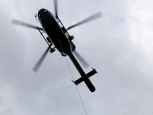 Hubschrauber musste ausrücken