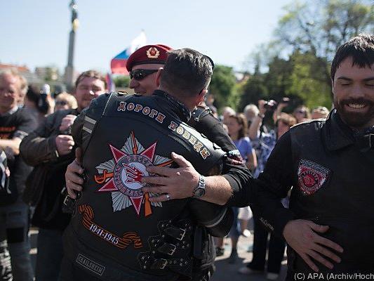 Die Tournee der Rocker startete in Moskau und endet in Berlin