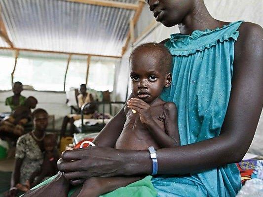 Hungersnot droht im Südsudan