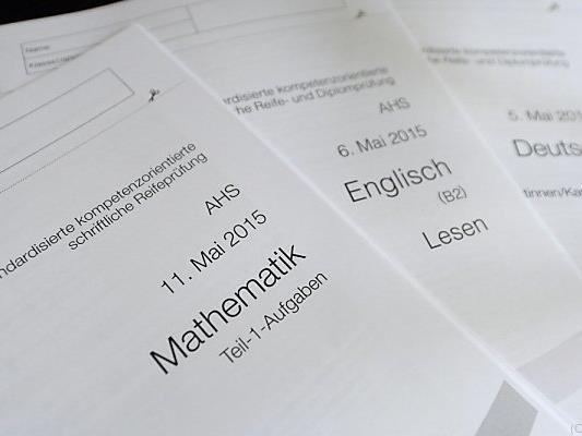 Zentralmatura wurde am Dienstag mit Mathematik fortgesetzt