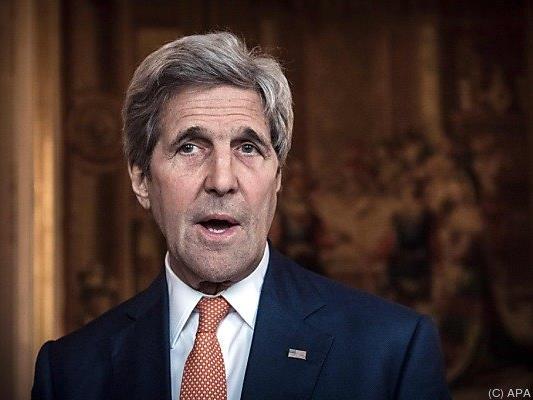 US-Außenminister Kerry bestätigte die Beratungen