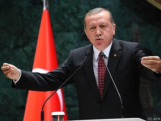 Scharfe Antwort des türkischen Präsidenten Erdogan