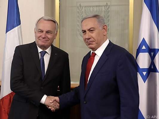 Ayrault traf Netanyahu in Jerusalem