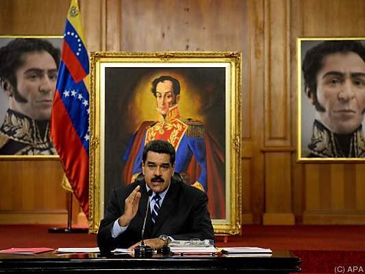 Maduro will an der Macht bleiben