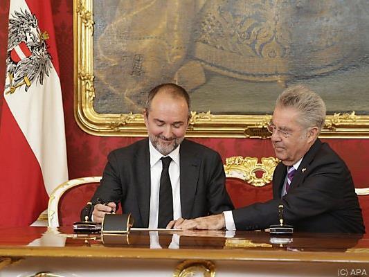 Kanzleramtsminister Drozda will Aufbruchstimmung nutzen