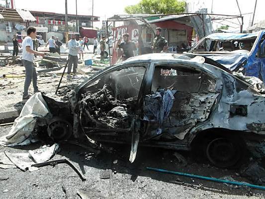 Sieben Autobomben wurden gezündet