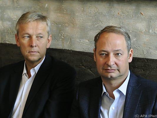 Die Klubchefs von ÖVP und SPÖ, Lopatka und Schieder