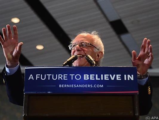 Sanders will das Ergebnis nachprüfen lassen