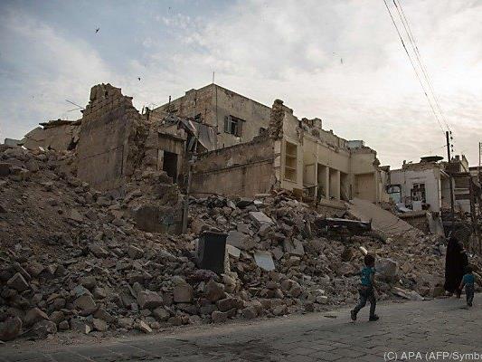Das Ausmaß der Zerstörungen ist enorm