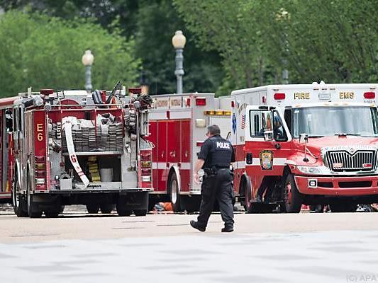 Feuerwehr und Spezialistenteam im Einsatz