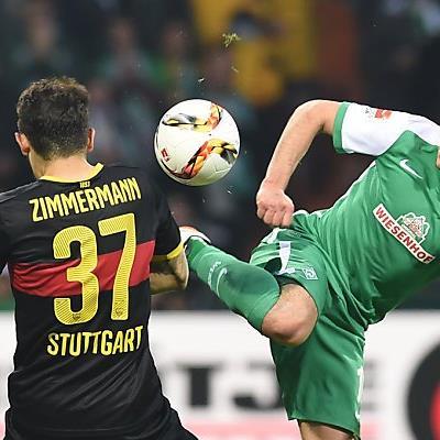 Kantersieg von Werder Bremen gegen Stuttgart