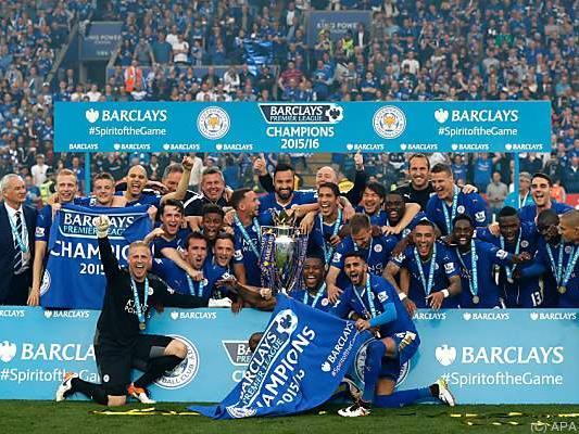 Leicester ließ sich feiern