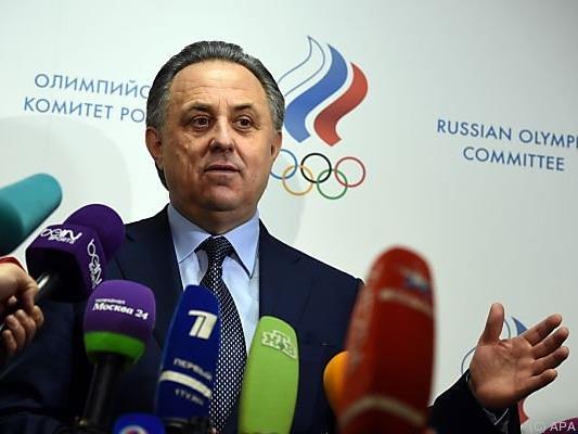 Russlands Sportminister Witali Mutko weist die Anschuldigungen zurück