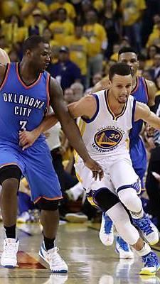 Stephen Curry führte sein Team zum Sieg
