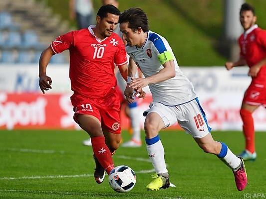 Gegen Tschechien verlor Malta zuletzt 0:6