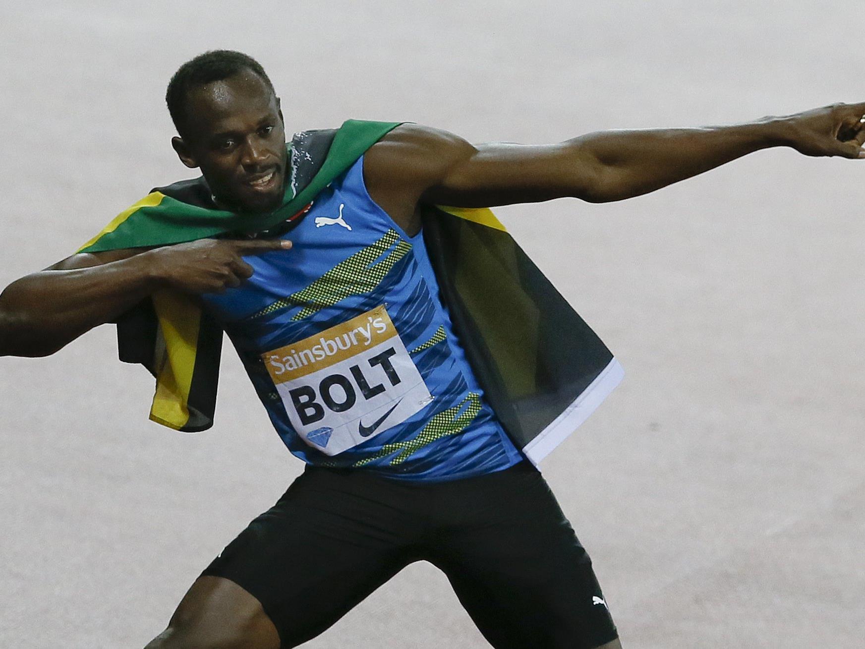 Der Jamaikaner Usain Bolt.