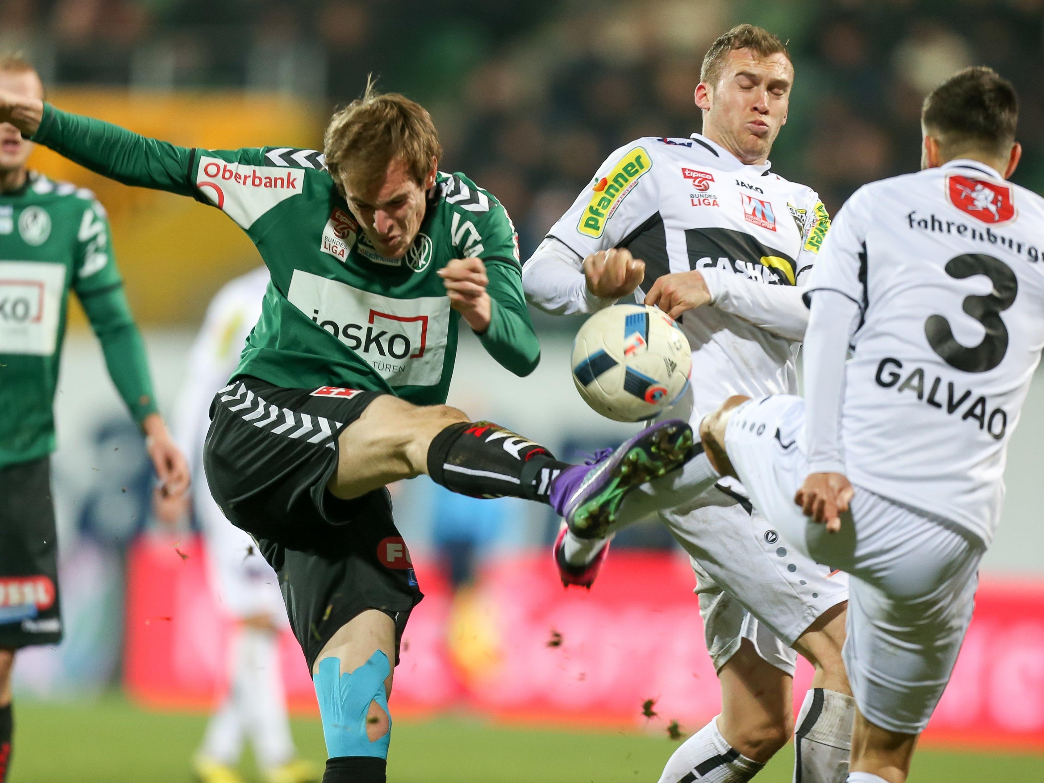 LIVE-Ticker zum Spiel SCR Altach gegen SV Ried ab 17.30 Uhr.
