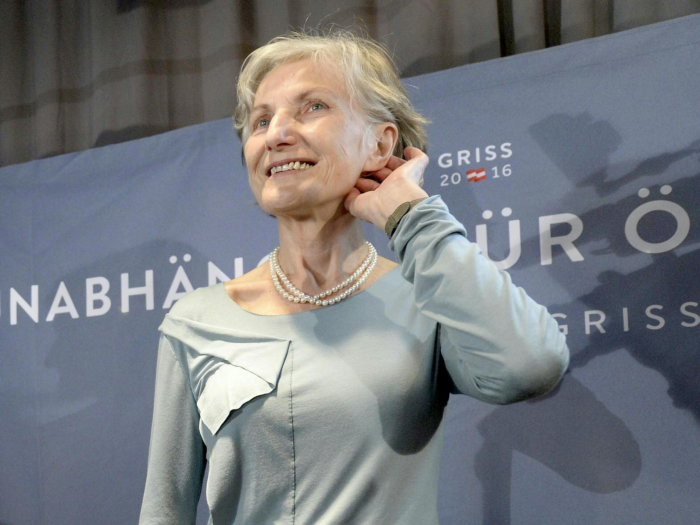 Präsidentschaftskandidatin Irmgard Griss will politisch aktiv bleiben.
