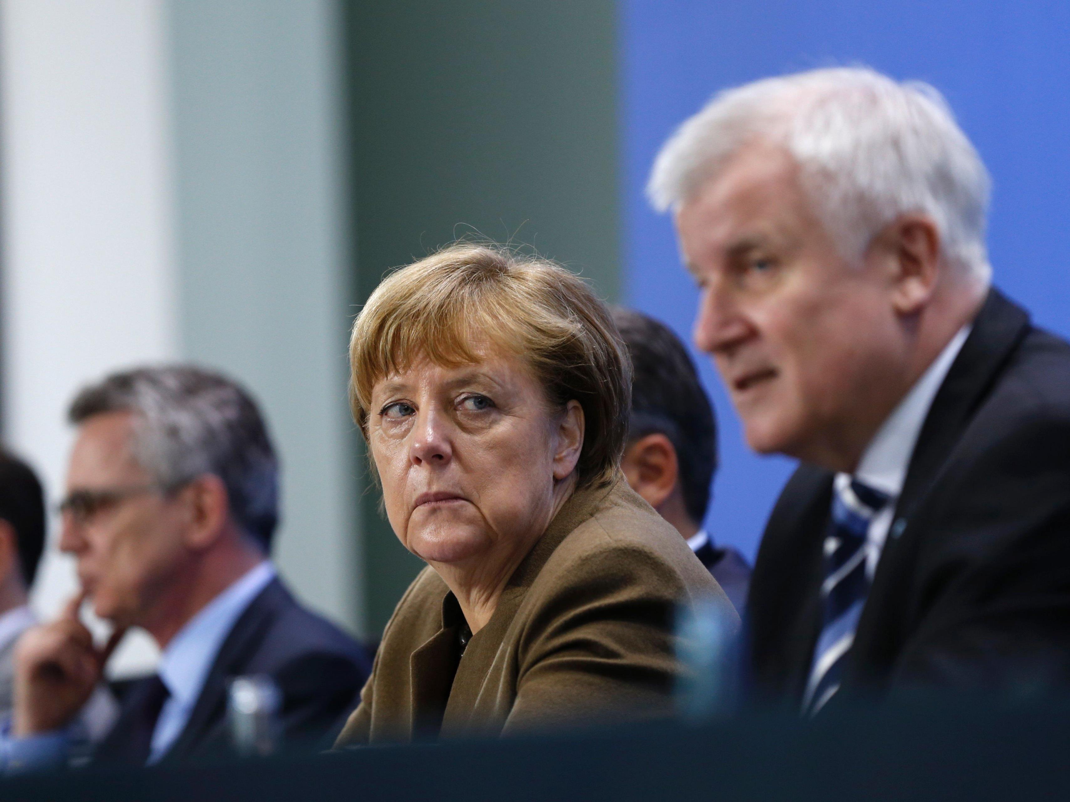 """AfD: Seehofer vor Merkel """"schon wieder eingeknickt""""."""