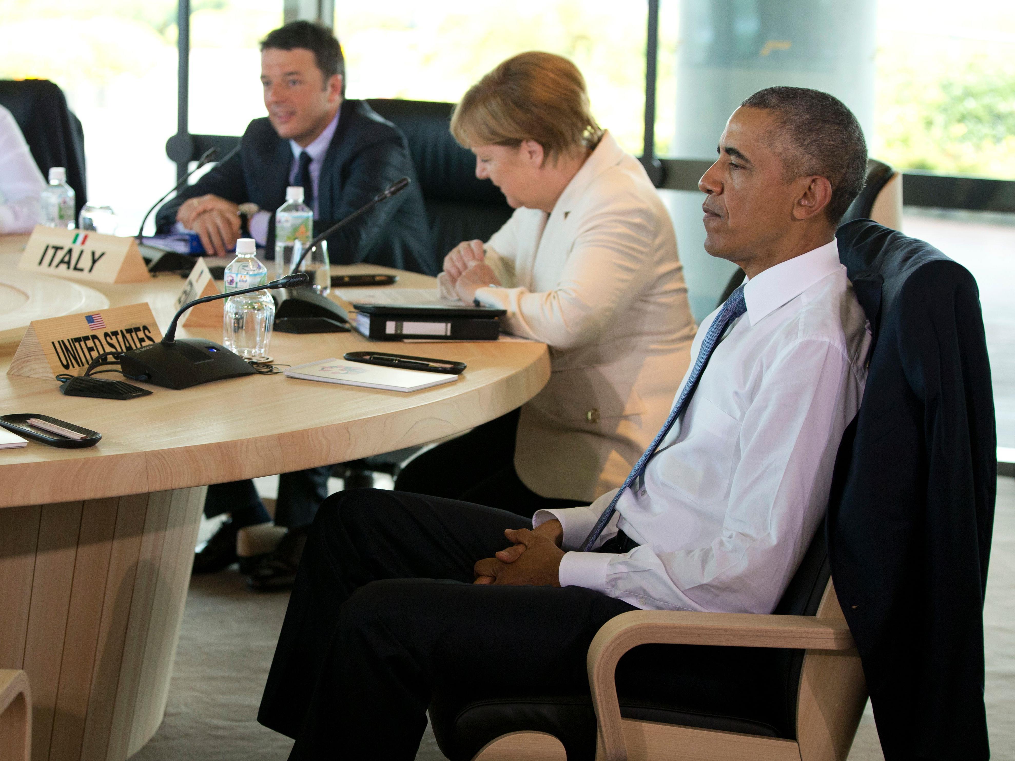 Der russische Präsident Wladimir Putin war 2014 wegen der Annexion der Krim aus dem Kreis führender Industrienationen ausgeschlossen worden.